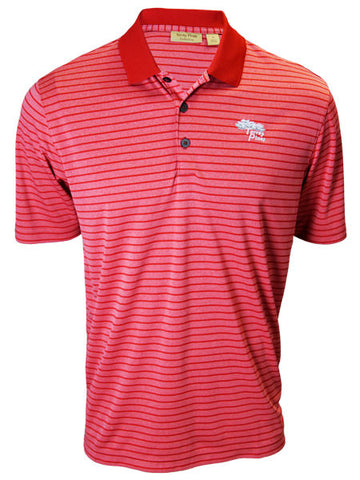 Torrey Pines Private Label Feeder Stripe for Men - Carmine Red