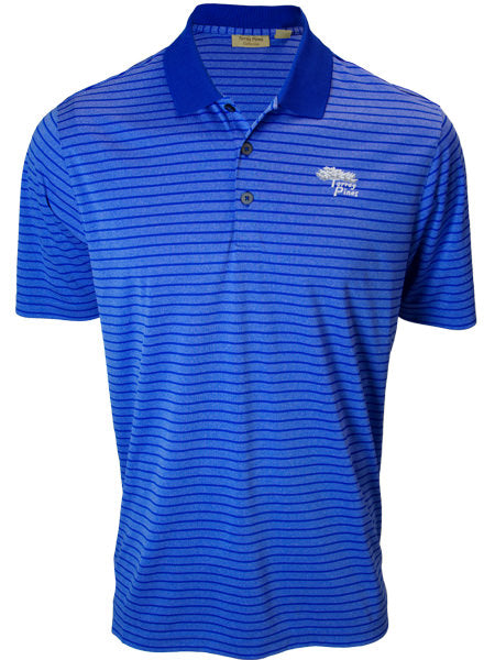 Torrey Pines Private Label Mens Striped Golf Polo - Merchandise and Services from The Golf Shop at Torrey Pines