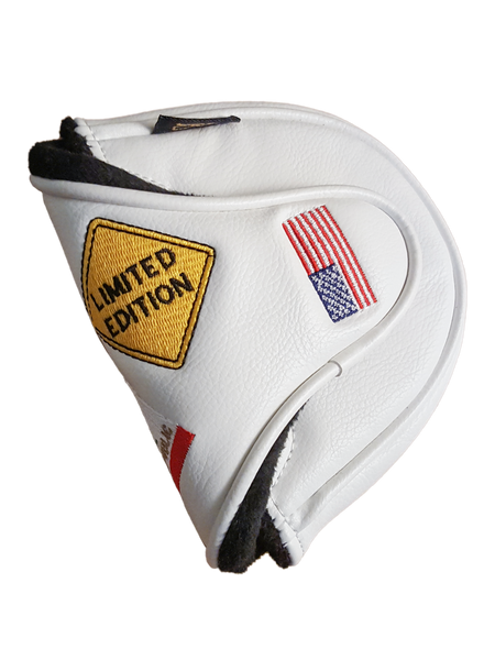 Image of Torrey Pines Limited Edition Mallet Style Putter Cover - White