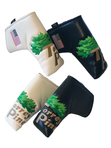 Torrey Pines PRG Blade Style Putter Cover - Merchandise and Services from The Golf Shop at Torrey Pines