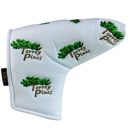 Torrey Pines Blade Style Putter Covers - Merchandise and Services from The Golf Shop at Torrey Pines
