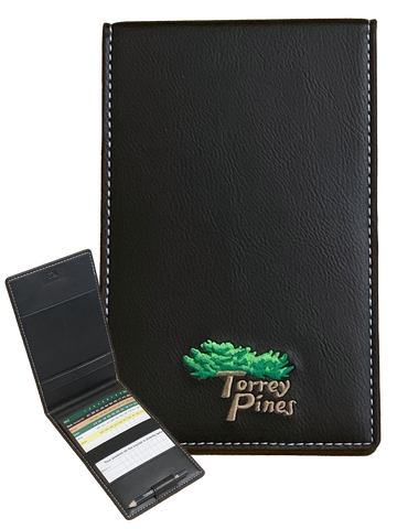 Torrey Pines Scorecard and Tour Yardage Book Cover - Merchandise and Services from The Golf Shop at Torrey Pines
