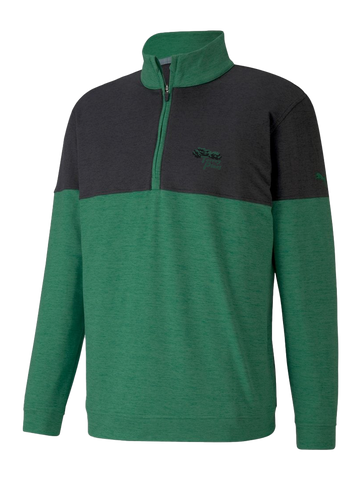 Torrey Pines Mens Cloudspun Warm Up Golf 1/4 Zip - Merchandise and Services from The Golf Shop at Torrey Pines