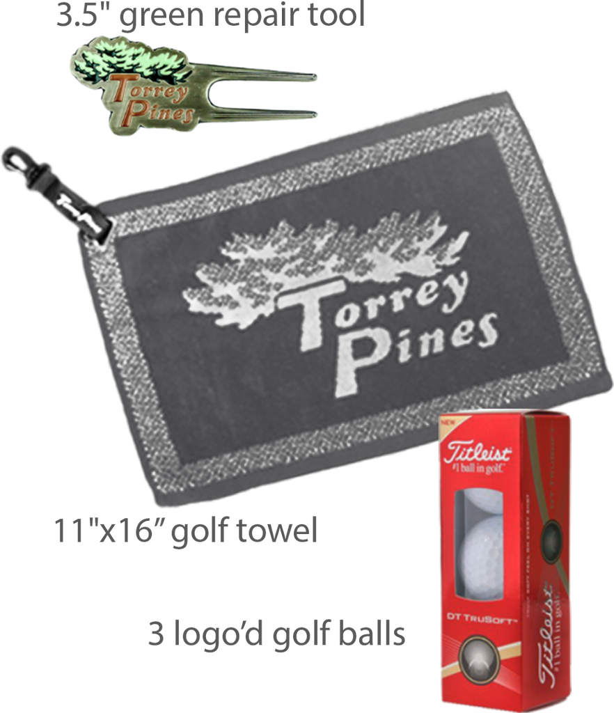 Torrey Pines Silver Gift Collection - Merchandise and Services from The Golf Shop at Torrey Pines