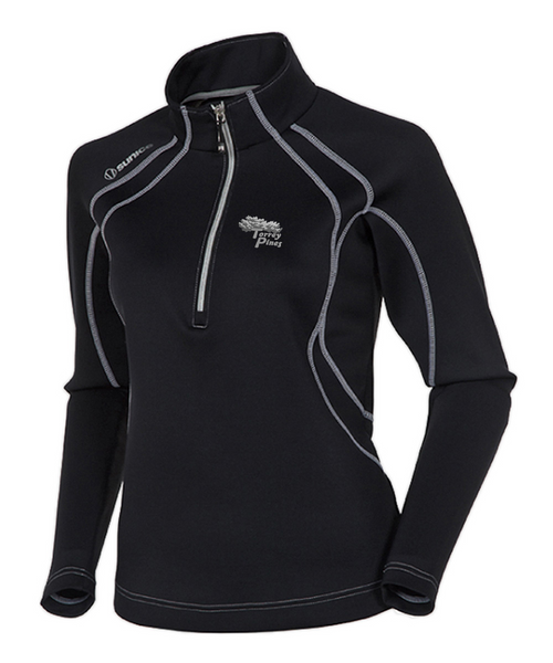 Torrey Pines Women's Megan SuperliteFX Stretch Thermal 1/4-Zip Pullover - Merchandise and Services from The Golf Shop at Torrey Pines