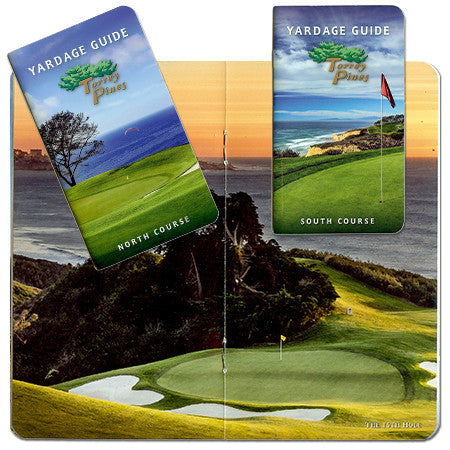 Torrey Pines Full Color Course Yardage Book Set - Merchandise and Services from The Golf Shop at Torrey Pines