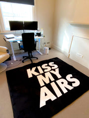 KISS MY AIRS BLACK SUPERSIZE UK & EUROPE SHIPPING ONLY