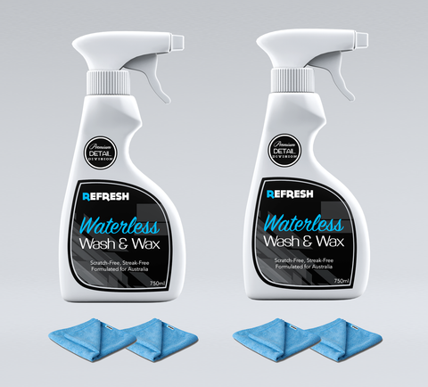"Waterless Wash & Wax ""His & Her Combo""  - Save 27%"