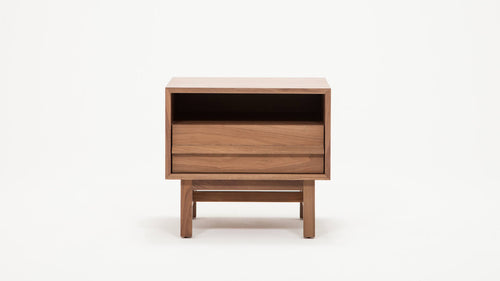 Marcel Nightstand Open Shelf