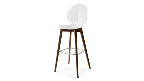 Basil Wood Bar Stool