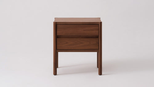 Monarch Double Drawer Nightstand