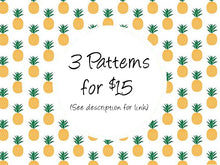 3 for $15 cross stitch patterns, leia patterns