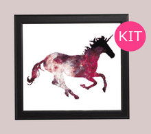 Cross Stitch Kit - Unicorn, Galaxy, Modern, Fantasy Counted Cross Stitch Pattern