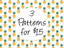 3 for $15 cross stitch patterns