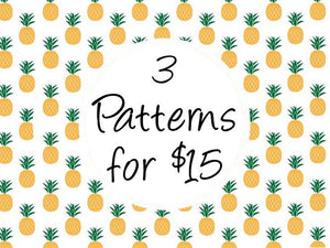 Cross Stitch Pattern Deals - Any 3 Patterns for 15 Dollars!