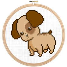 Dog Cross Stitch Kit - Cute Puppy Cross Stitch