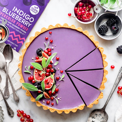 Mixed Berry Summer Tart