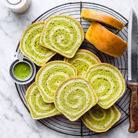 Sweet Pandan Milk Bread