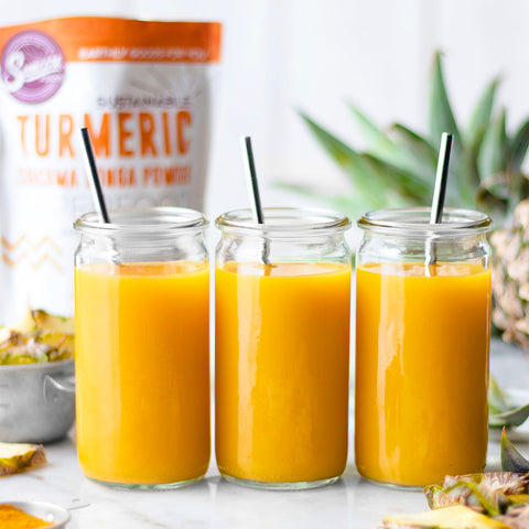 Tropical Pineapple Turmeric Juices