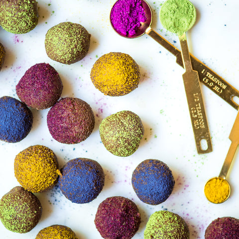 Supercolor Chocolate Truffles
