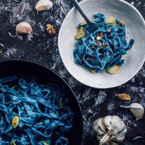 Naturally Blue Vegan Fettuccine