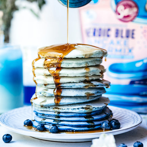 Suncore Foods Heroic Blue Ombre Pancakes