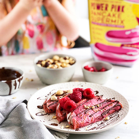Suncore Foods® Power Pink Pancake Supermix Tacos