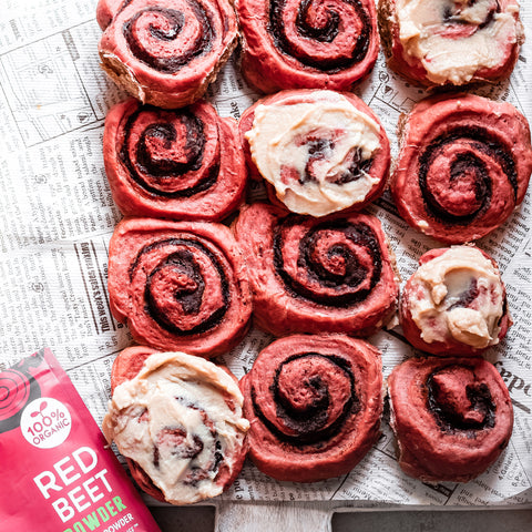 Red Beet Very Berry Rolls