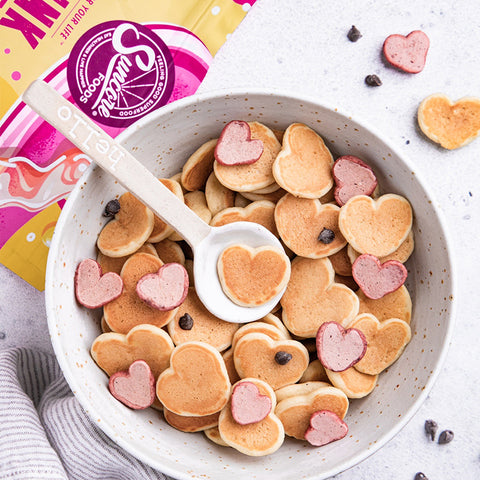 Suncore Foods® Power Pink Mini Heart Shaped Pancakes