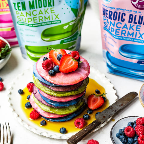 Suncore Foods Rainbow Pancake Supermix Tower of Heaven