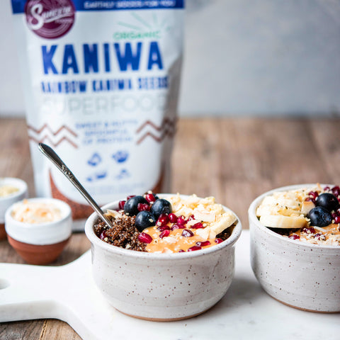 Kaniwa Breakfast Bowl