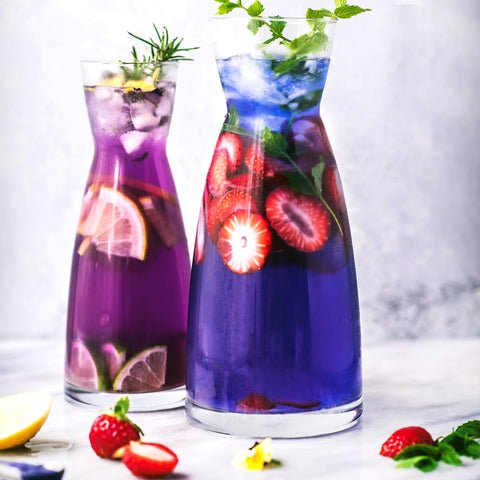 Butterfly Pea Flower Infused Water