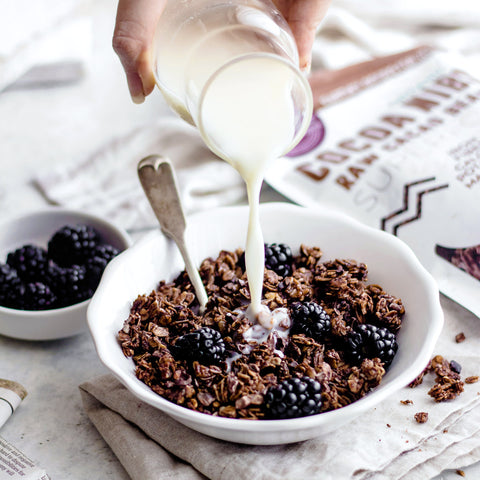 Chocolate Granola With Cacao Nibs