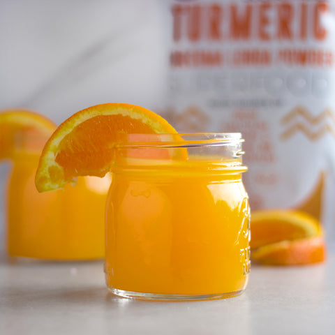 Orange Blossom Turmeric Juice