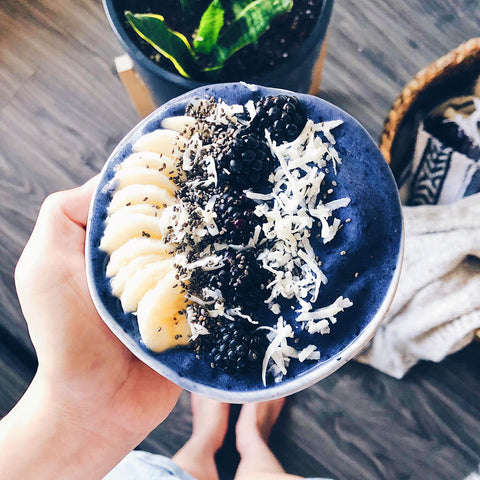 Blue Butterfly Pea Smoothie Bowl