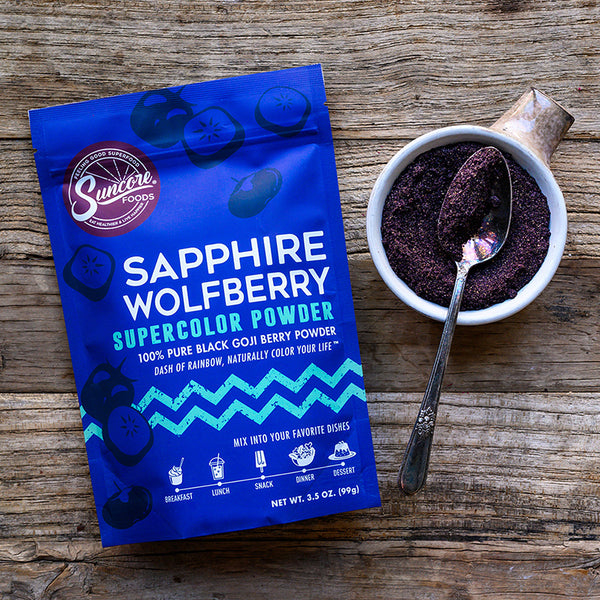 Sapphire Wolfberry