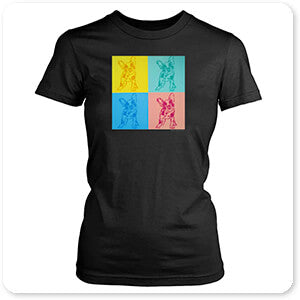 Abstract Graffiti Artist Collection French Bulldogs - T-Shirt