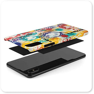 Abstract Graffiti Artist Collection L.A. Woman - Classic Tough Slim Cell Phone Case
