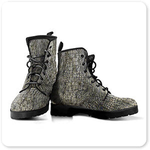 Animal Patterns Collection v1.3 - Men's Women's Leather Boots - EXPRESS DELIVERY! Leopard, Tiger, Zebra, Cheetah, Snake print patterns