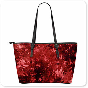Colored Camoflauge Collection The New Camo - Large Leather Tote Bags - 7 Designs - EXPRESS DELIVERY!