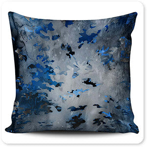 Colored Camoflauge Collection The New Camo Morning Frost - Pillow