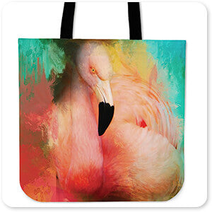 Colorful Expressions Flamingo - Tote Bag