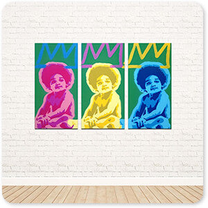 For the Funk Collection 3 Kings - 3 Piece Canvas Art - EXPRESS DELIVERY!