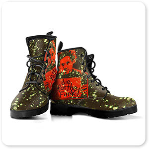 For the Funk Collection Die For The Funk - Men's Women's Faux Leather Boots - EXPRESS DELIVERY!
