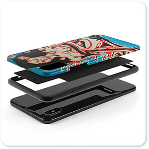 For the Funk Collection Tiki Girl - Tough Cell Phone Case