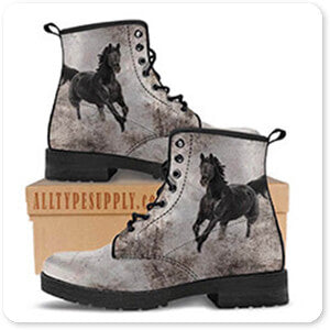 GypsyHorse Horses Collection v1.3 - Men's Leather Boots - EXPRESS DELIVERY!