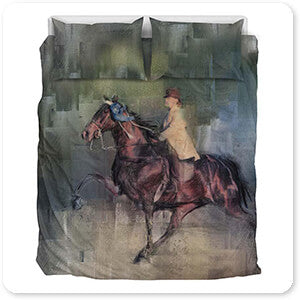 Horses Collection Winner - Duvet Bedding Set