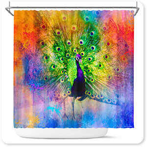 Jai Johnson Shower Curtains - Jazzy Animal Collection 2 - 4 Designs