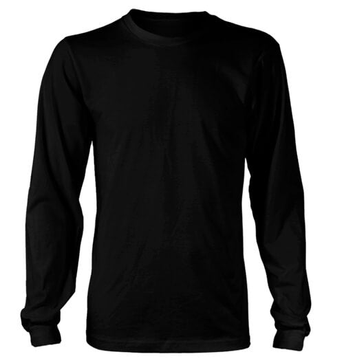 Measurements - Apparel - District Longsleeve T-Shirt - AllTypeSupply.com