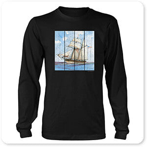 Nautical Ships-B - T-Shirt